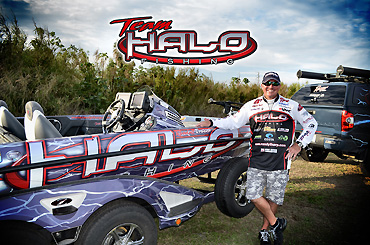 Halo becomes Tharp's title sponsor