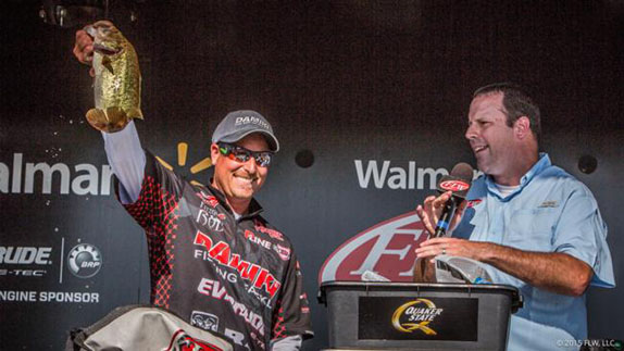 Thrift Solves Eufaula Puzzle For 4th FLW Tour Win