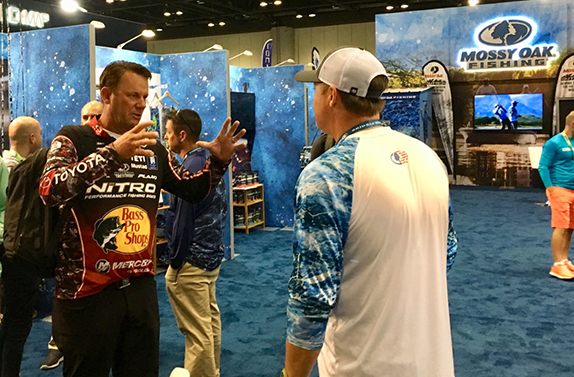 KVD Was Happy To Be At ICAST Again