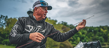 Walker to talk power-fishing in streaming event