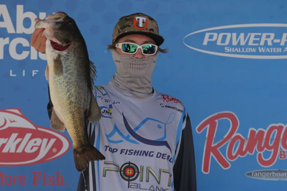 Welcher Bags 19-05 On Day 1 At Guntersville