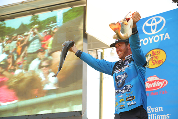 Wheeler Holds Off KVD To Wrap Up BASSFest Win