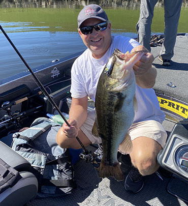 Wilks: Lipless baits in the tailrace