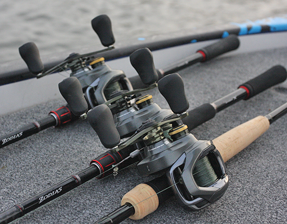 New gear: Shimano Curado DC