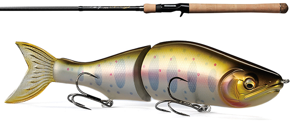 New gear: Megabass I-SLIDE and Orochi XX Leviathan rod