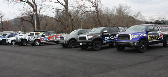Tow Vehicles Allow Pros To Ride In Style