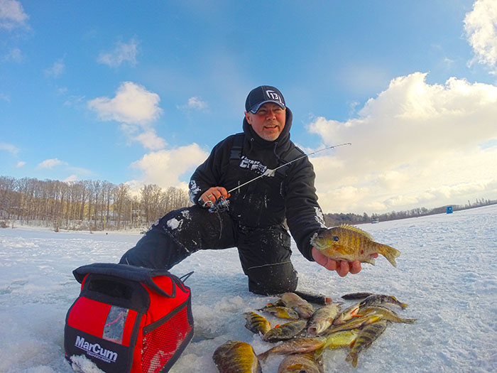 For Lefebre, Ice Fishing's A Passion And Escape